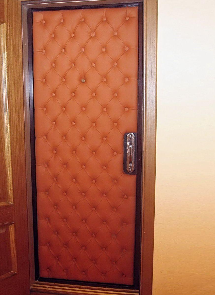 Утепляем своими руками входную деревянную дверь