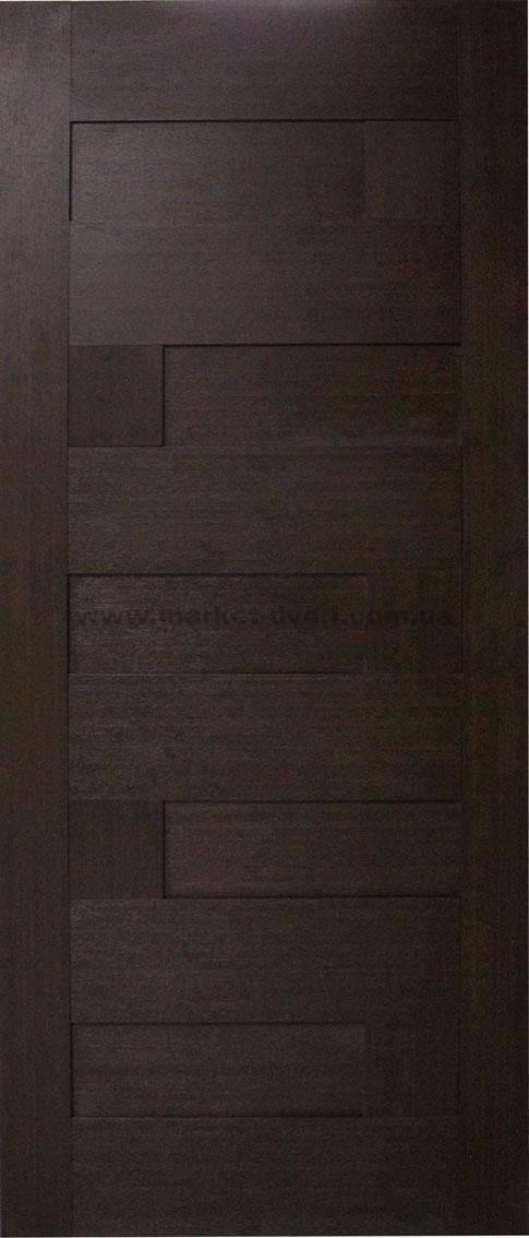 Деревянные двери в туалет и ванную комнату