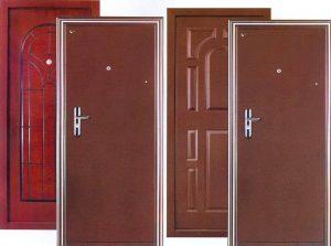 Дешёвые стальные двери