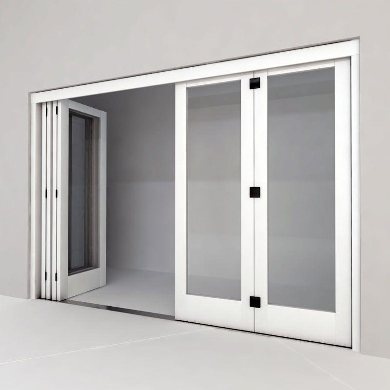Устанавливаем дверь гармошку