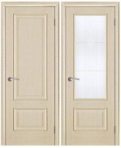 Двери из натурального дерева светлые