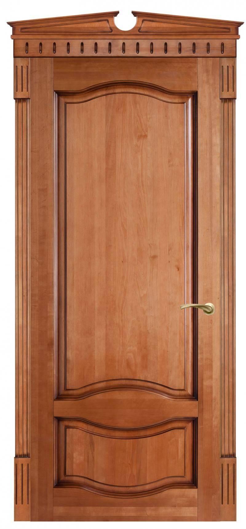 Изготавливаем двери из ольхи