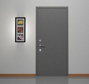 Двери металлические со скрытыми петлями