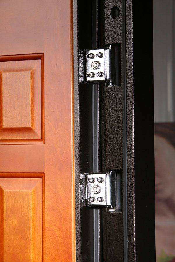 Скрытые петли на входной двери