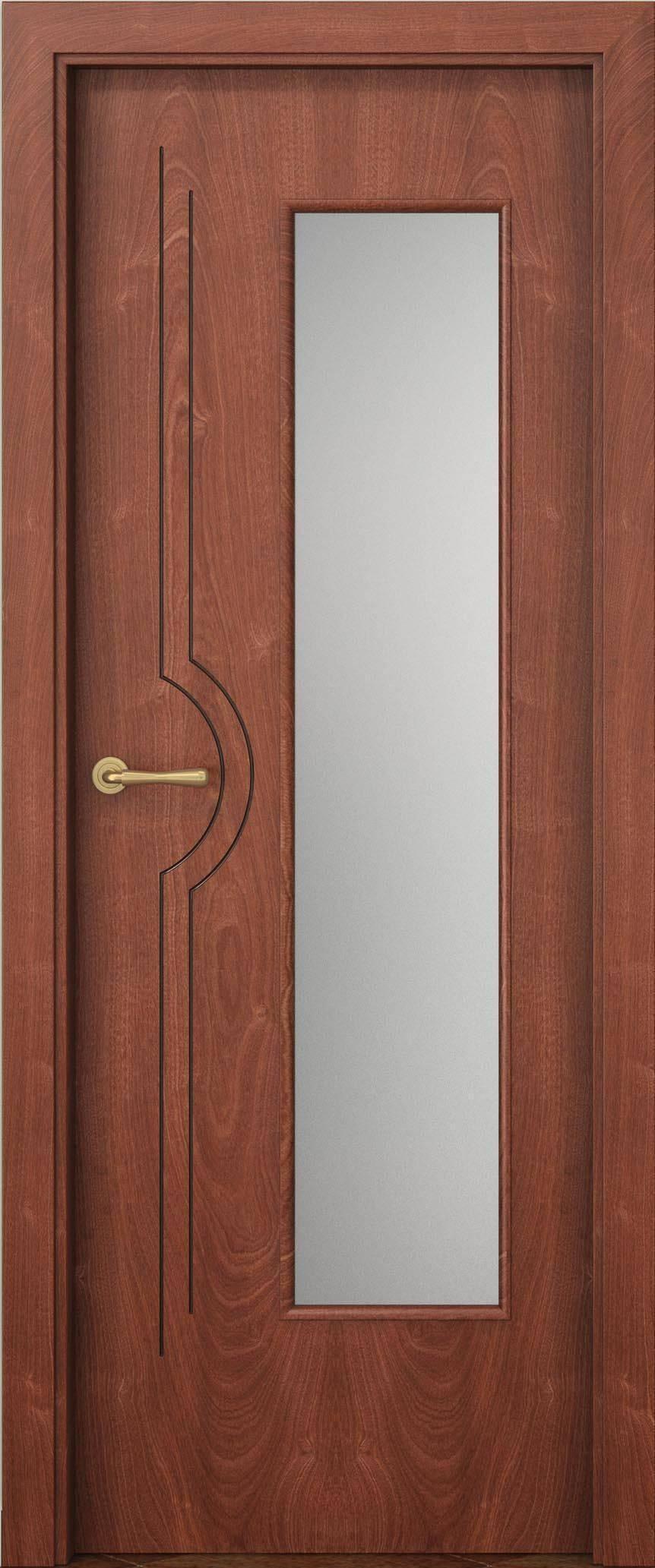 Испанские двери со стеклом
