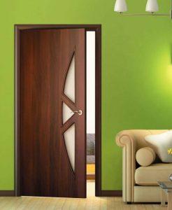 Привлекательность ламинированных дверей