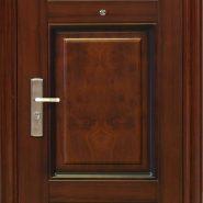 Металлические бюджетные двери