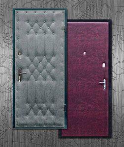 Обивка двери своими руками