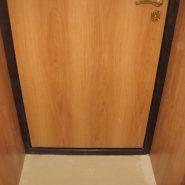 Отделка дверного проёма ламинатом