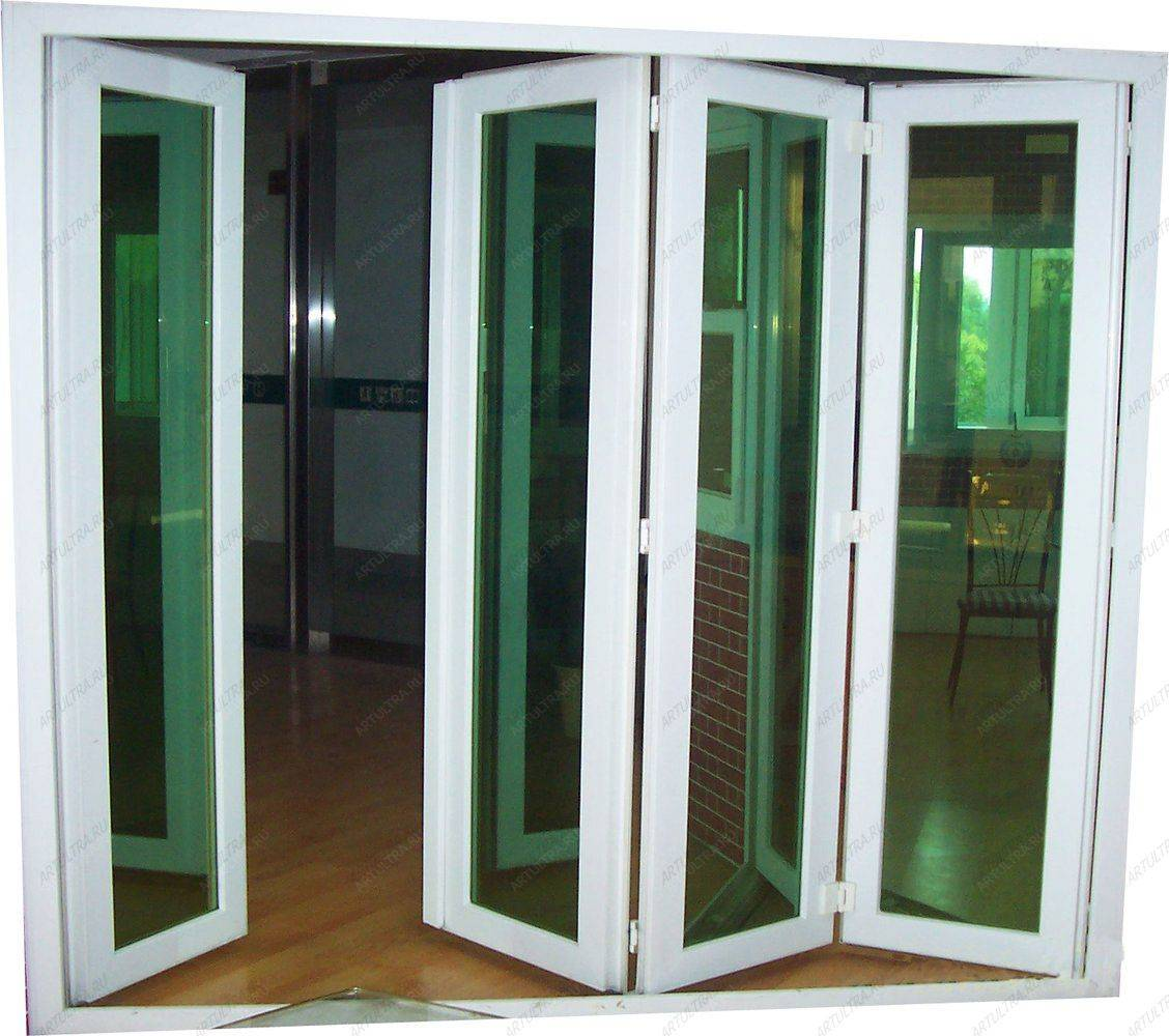 Пластиковые межкомнатные двери гармошка