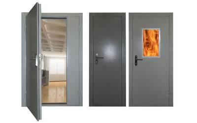Обзор противопожарных дверей
