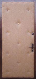 Утеплённые металлические двери