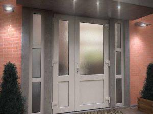 Широкий дверной проем