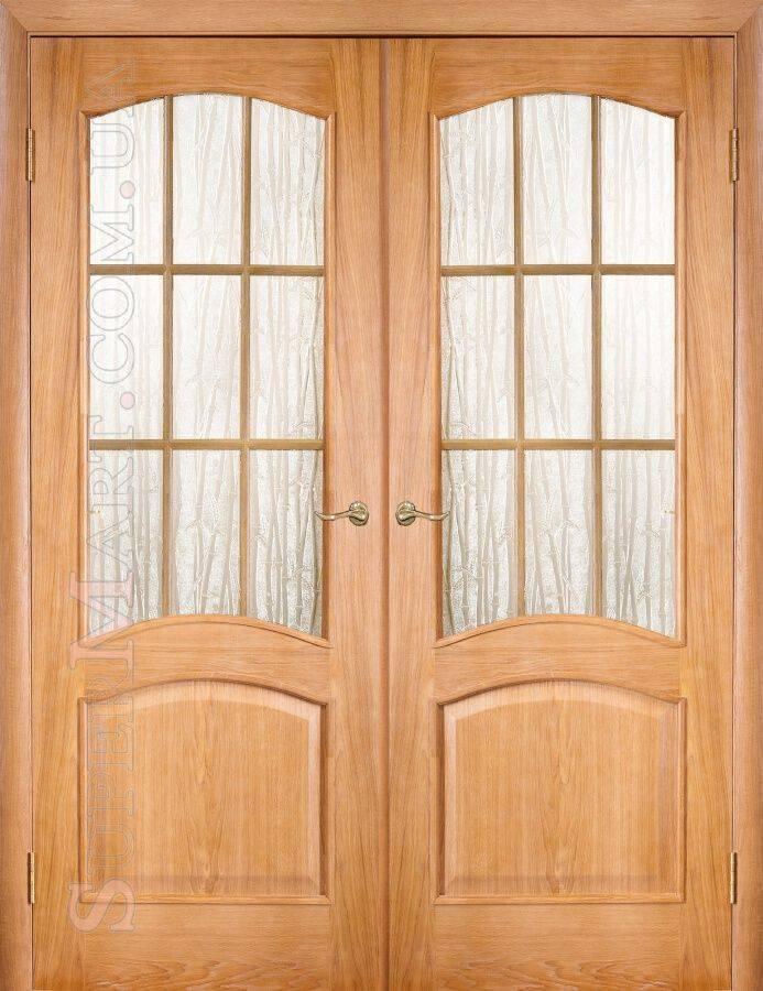 Двойные межкомнатные двери в прихожую