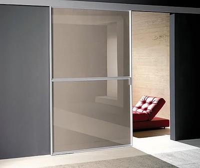 Выдвижные межкомнатные двери