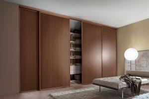 Скрытые двери для шкафа