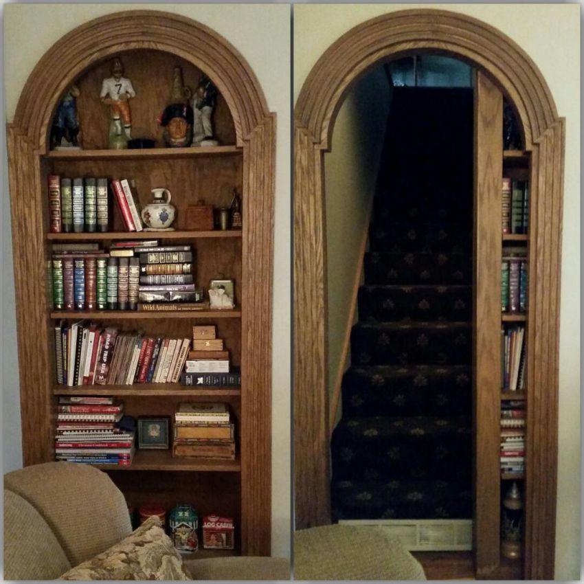 Потайная дверь в другую комнату