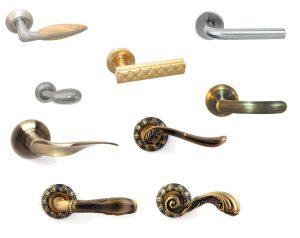 Разнообразные ручки для пластиковых дверей