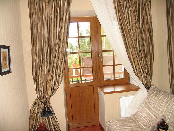 Утепляем деревянную балконную дверь