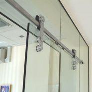 Устанавливаем доводчик для стеклянных дверей
