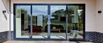 Алюминиевые двери изготовленные по стандартам