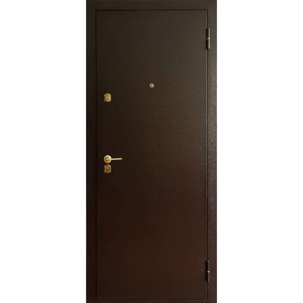 Дешёвые металлические двери