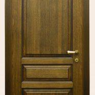 Двери изготовленные из массива дуба