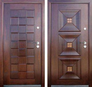 Двери из натурального дуба