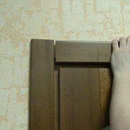 Двери с доборами своими руками