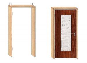 Двери с коробкой межкомнатные