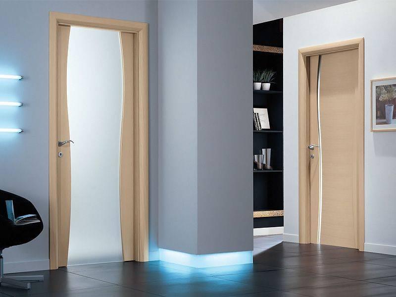 Выбираем двери в ванную