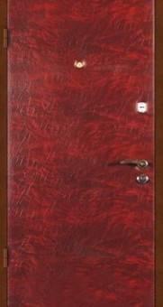 Двери входные обшитые дермантином