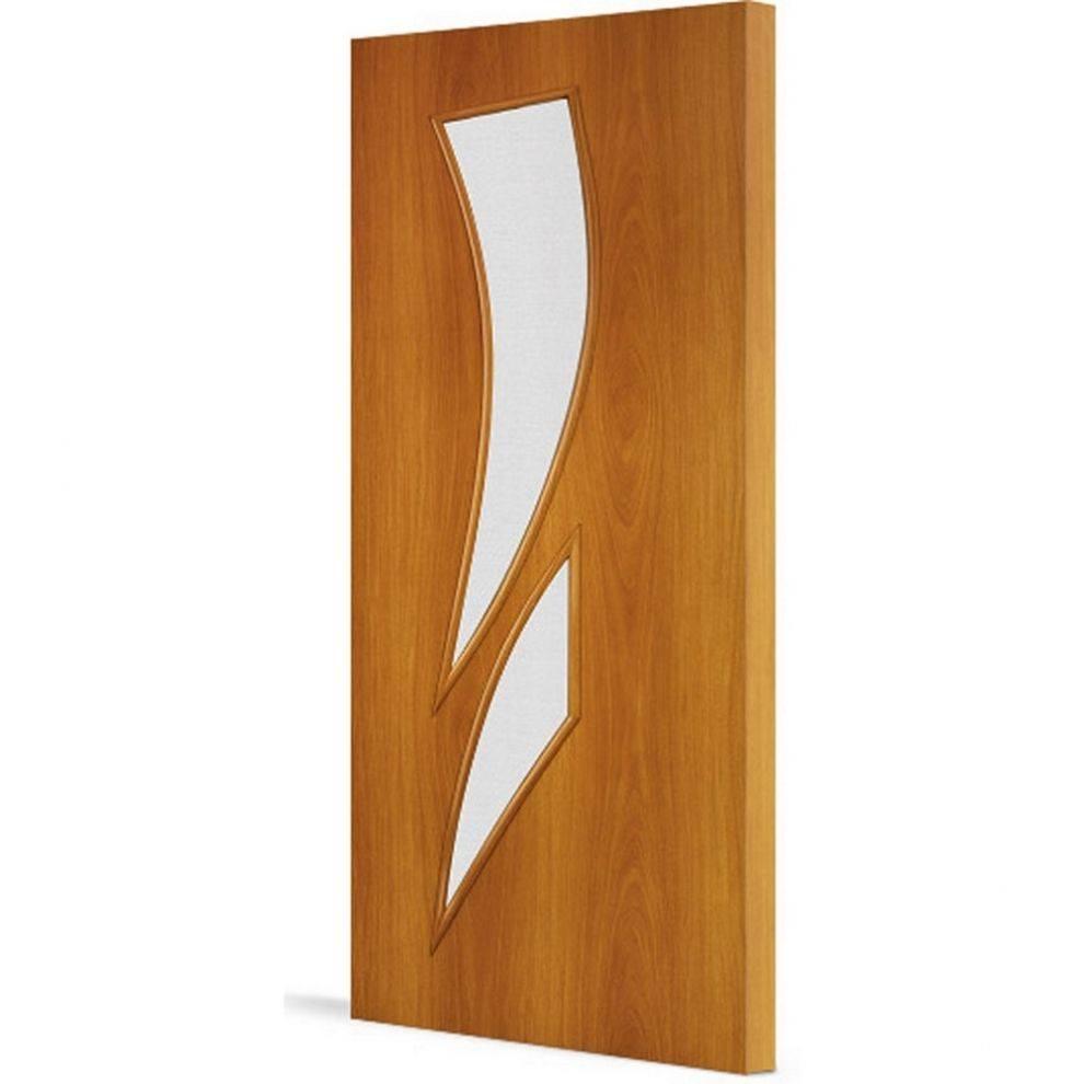 Ламинированные двери со стеклянными вставками