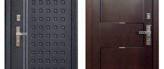 Выбор дешёвой металлической двери