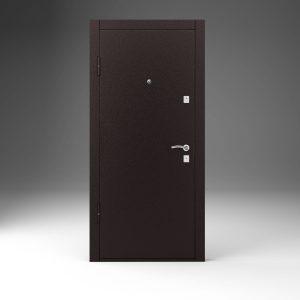 Металлические недорогие двери