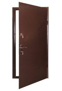 Металлические двери с коробкой