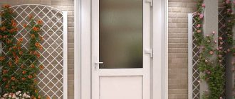 Установлены металлопластиковые двери