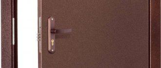 Шумоизоляция металлической двери
