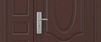 Тамбурные железные двери