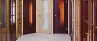Выбираем разнообразные межкомнатные двери мдф