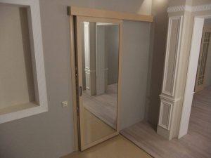 Двери межкомнатные зеркальные