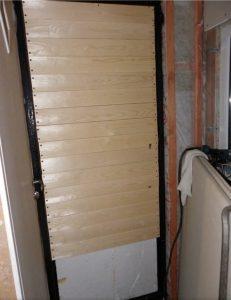 Обшивка двери с внутренней стороны
