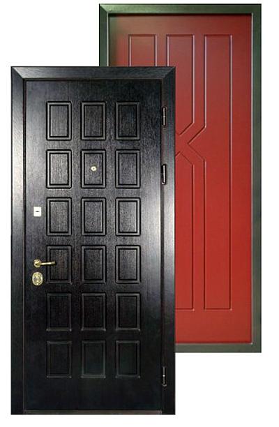 Металлические двери мдф выбор