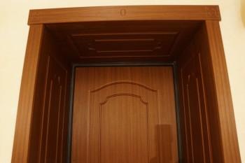 Установлены доборы на двери