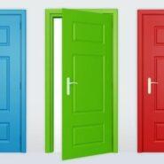как выбрать цвет дверей