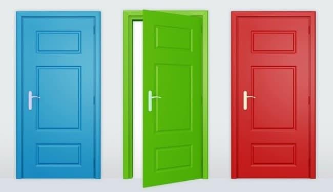 Как подбирать цвет межкомнатных дверей