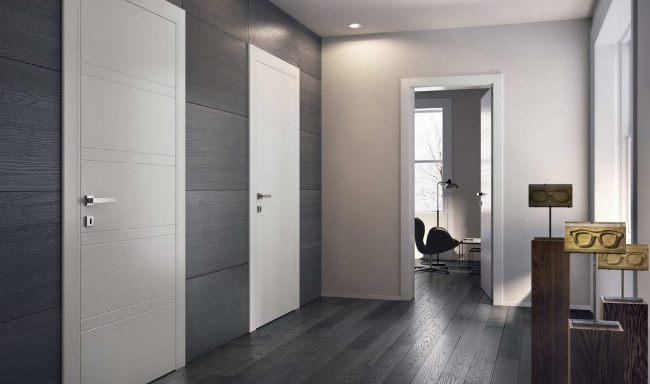 красивые межкомнатные двери в современном стиле