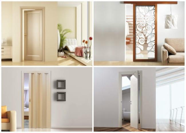 виды дверей межкомнатных