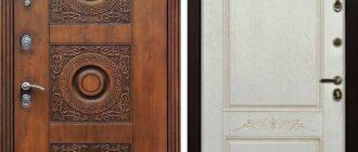 входные железные двери Гермес
