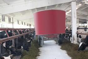 Сельскохозяйственные кормораздатчики